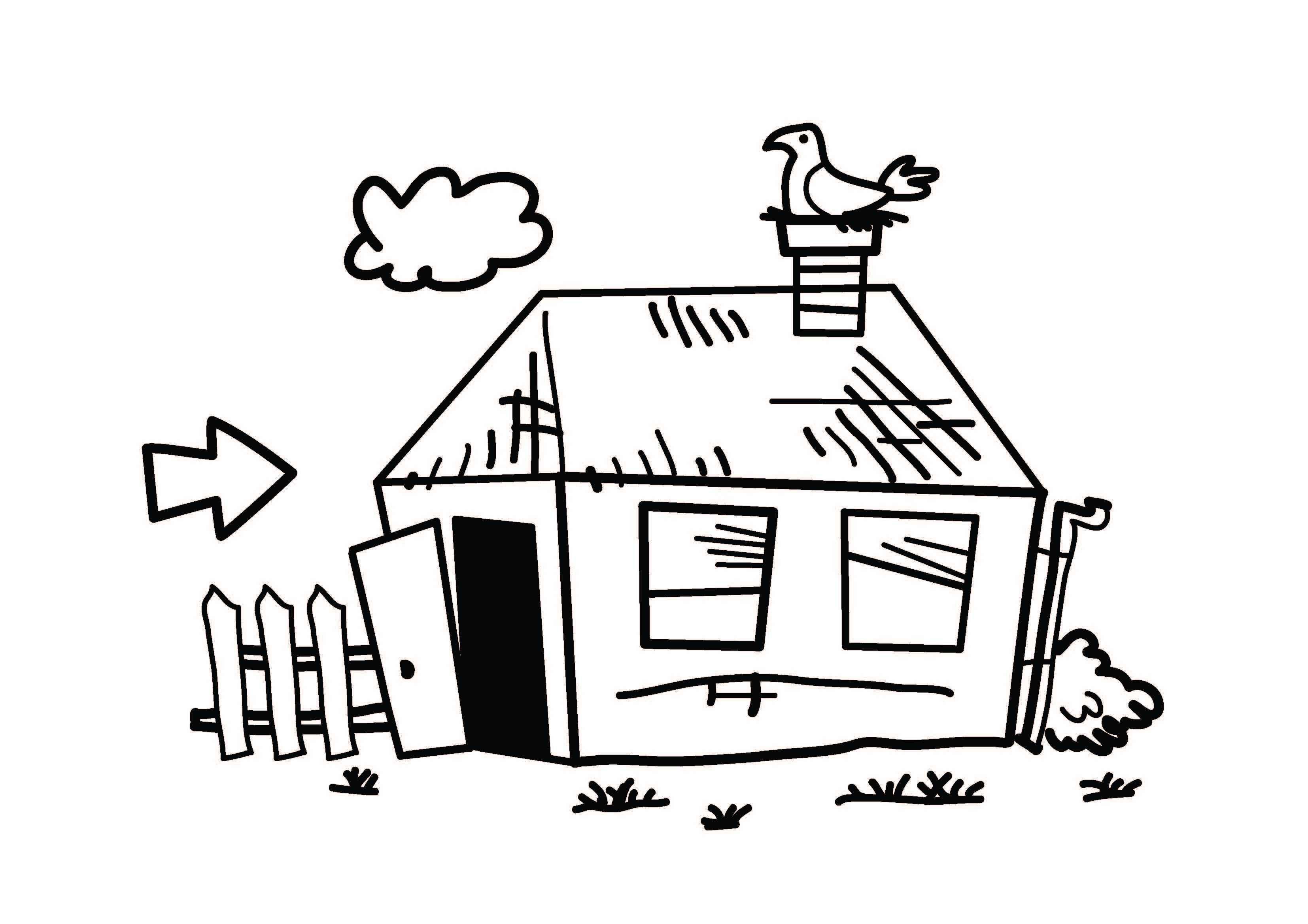 vergleichswert Immobilie - heruntergekommene - Immobilie