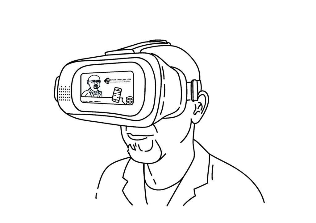Vermarktung 360 Grad Besichtigung